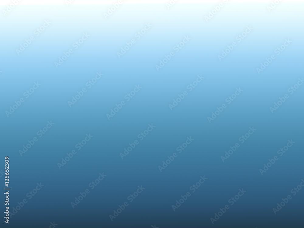 Fotografie, Obraz  blue degrade background