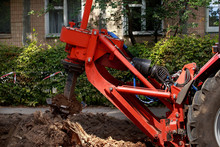 Machine For Uprooting Stumps