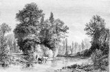 Exhibition of 1861, Banks of the Seine at Saint-Julien near Troy - 125661511