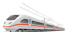 Vector Of Speed Train.