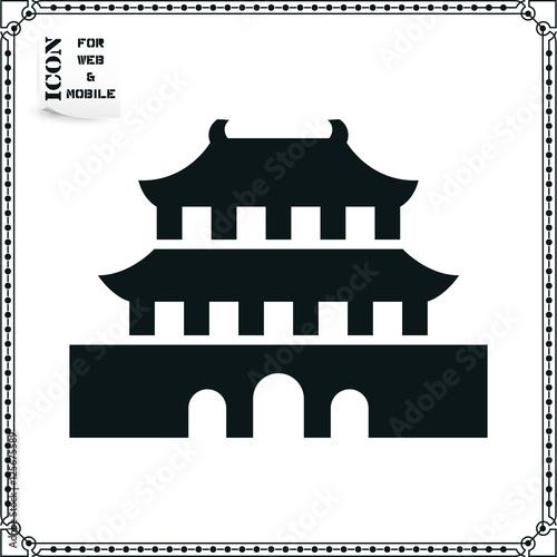 Forbidden-City Icon Poster