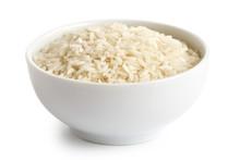 Bowl Of Long Grain White Rice ...