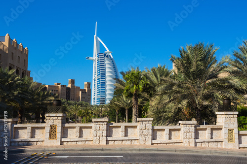luxury hotel Burj Al Arab Wallpaper Mural