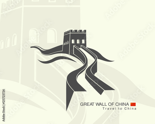 Fototapeta great wall of China