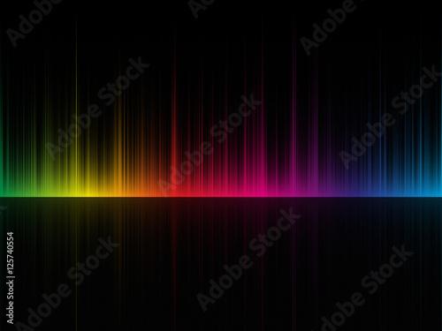 dark color spectrum background Fototapet
