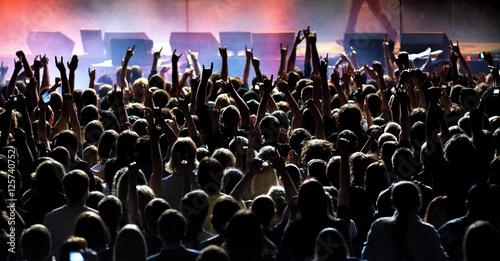 Fototapeta hardcore concert