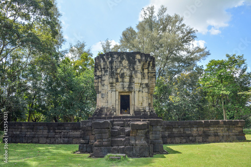 Fotografia, Obraz  Hidu sanctuary situated name Prasat Ban Phluang,Prasat District,Surin, thailand