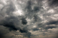 Dramatic Storm Clouds In The Sky