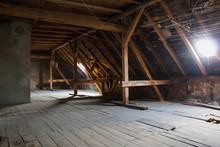 Attic , Old Loft /  Roof Befor...