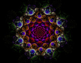 Abstract fractal image - 125765756