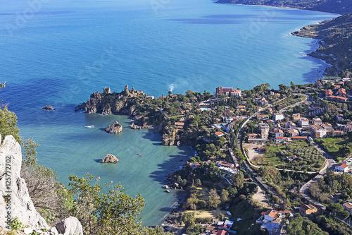 Photo coastline of Sicily
