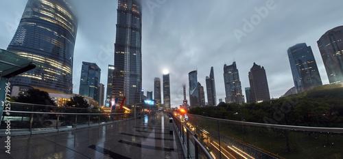 Raining Shanghai