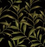 leaf seamless pattern - 125789546