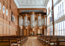 Rehearsal In An Empty Organ Hall
