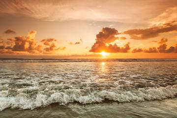 Fototapeta zachód słońca na Balii