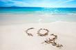 CO2 on tropical beach