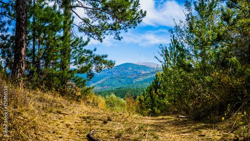 Keuken foto achterwand Verenigde Staten Beautiful View Of Vitosha Mountain, Bulgaria