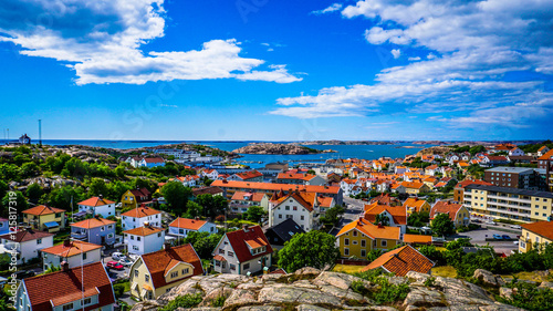 Photo sur Aluminium Iles Canaries Splendid view from the highest point on the island Orust, Sweden
