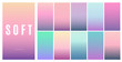 Creative soft color background design