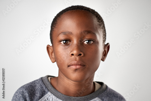 Fotografiet  african boy face