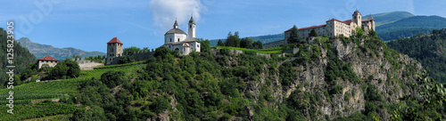 Fotografie, Obraz  Sabiona Monastery, Chiusa, Klausen, Valle Isarco, Bolzano, Trentino Alto Adige,