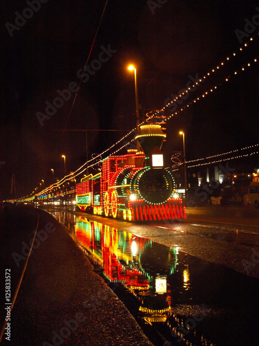 Blackpool Tram Canvas Print