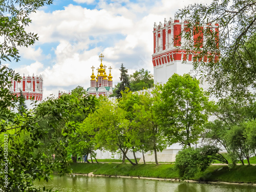 Novodevichy Convent or New Maidens Monastery, Moscow, Russia