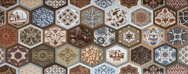 Fototapeta Mozaika tile mosaic