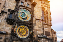Famous Astronomical Clock In P...