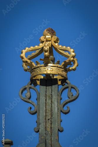 Photo  Corona dorada (Detalle del palacio Real de Madrid)