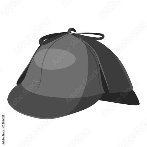 Cuadros en Lienzo Hat detective icon