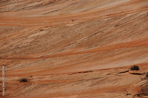 Valokuva  Detail, cross current layers of red sandstone