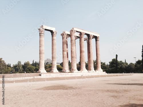 Staande foto Athene Temple of Olympian Zeus in Athens, Greece