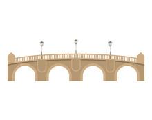 Pont Neuf Bridge Over White Ba...