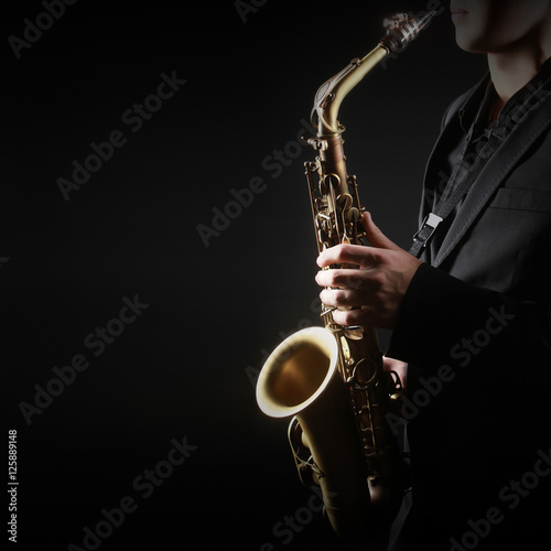 Photo Stands Music Saxophone Player Saxophonist Playing Sax alto