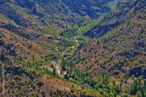 Dağlar arası nehir Poster