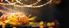 Thanksgiving Day. Autumn Thank...
