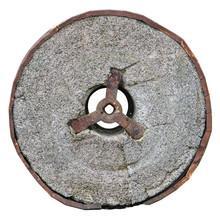 Stone Concrete Wheel Isolated