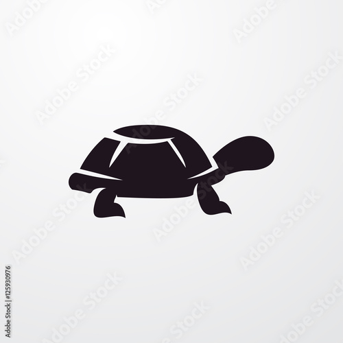 Fotografie, Obraz  turtle icon illustration