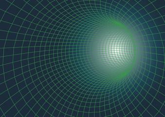 fototapeta 3D futurystyczny tunel