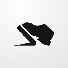 Pedal Icon Illustration