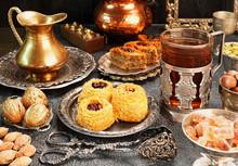 Large Set Of Eastern, Arab, Turkish Sweets