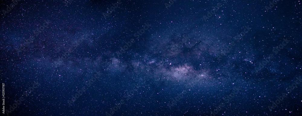 Fototapety, obrazy: Milky Way and Stars at Atacama Desert