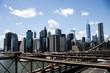 New York City USA Skyline view from Brooklyn Bridge 2