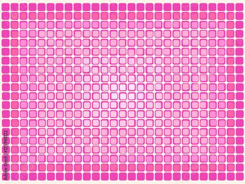 Fotografie, Obraz  Mosaico ampliado de quadrados vermelhos sobrepostos