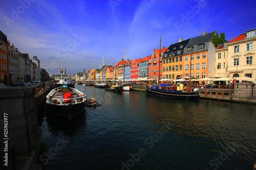 Photo  Copenhagen Nyhavn
