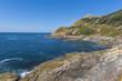 Lighthouses in Cies Islands (Pontevedra, Spain).