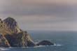 Lighthouse of Cies Islands (Pontevedra, Spain).