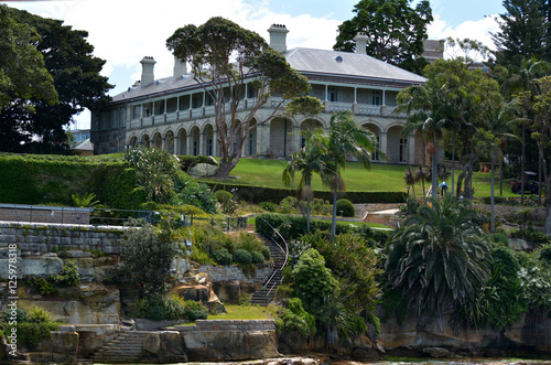 Photo  Admiralty House Sydney New South Wales Australia