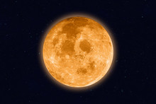 Supermoon - Full Moon On Night...